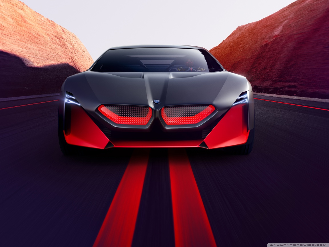 2019 BMW Vision M NEXT Sports Car Road 4K HD Desktop Wallpaper 1152x864
