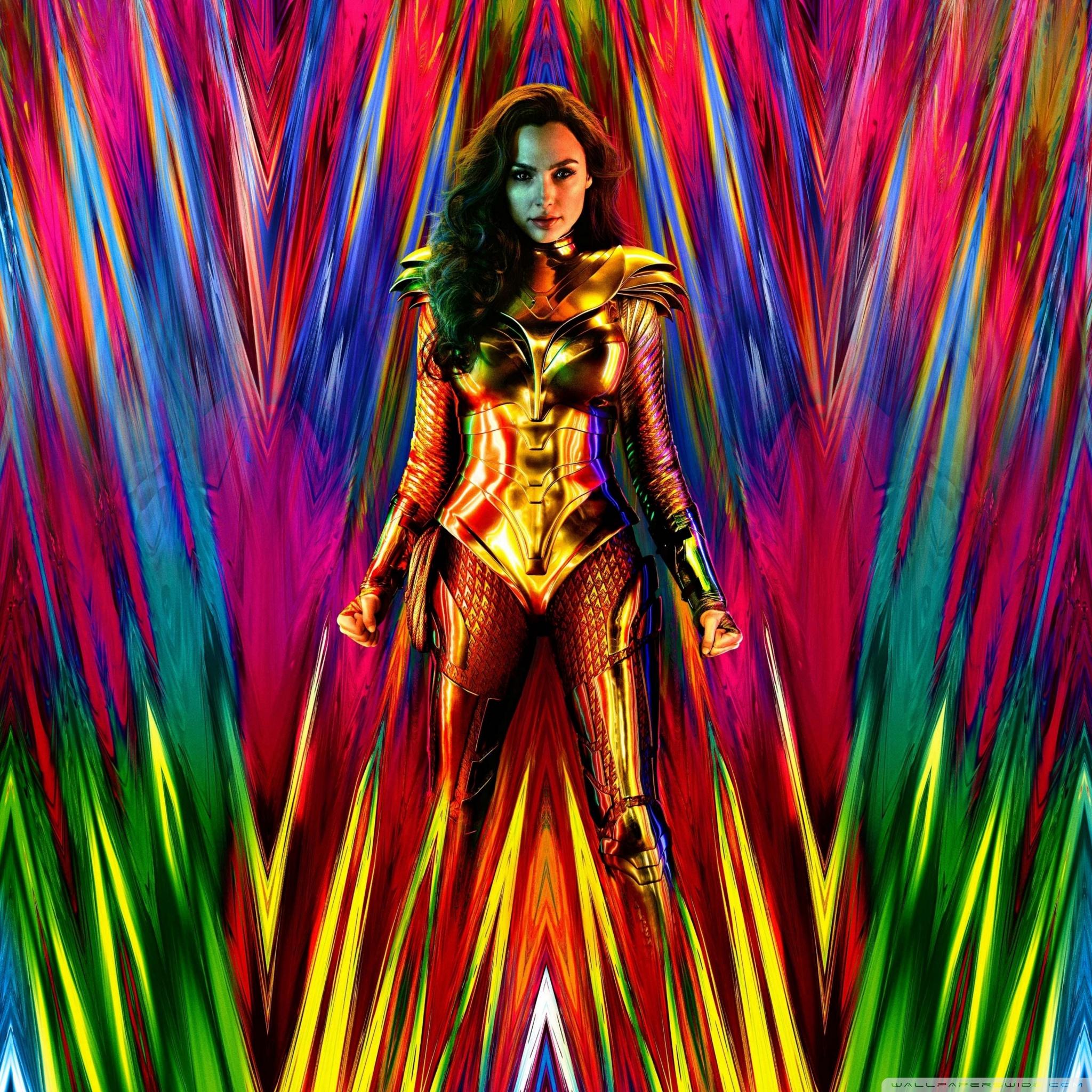Wonder Woman 1984 Movie 2020 Ultra HD Desktop Background Wallpaper 2048x2048
