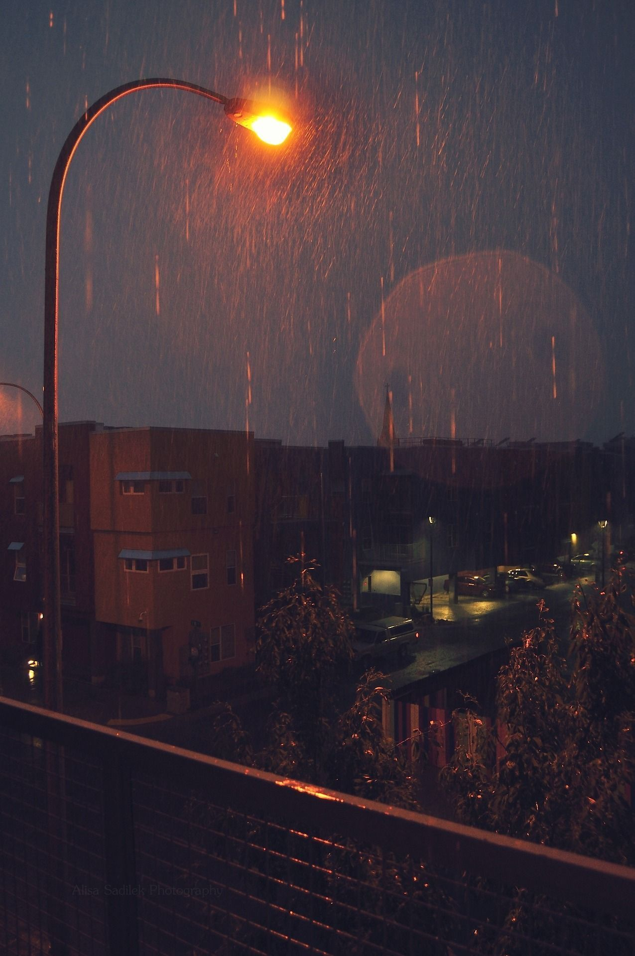 Aesthetics Rainy City Wallpapers