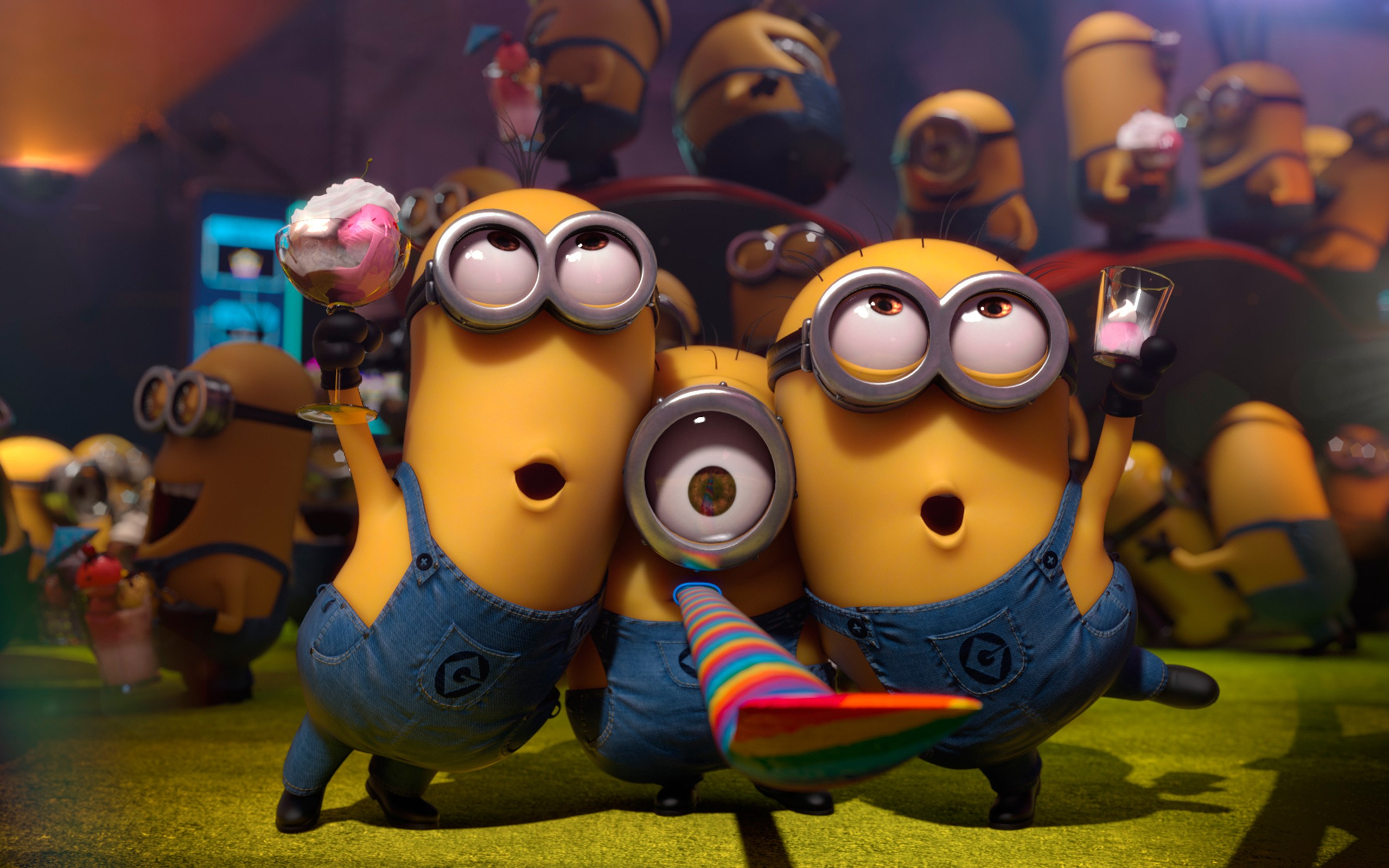 10 Minions Desktop Wallpapers 2560x1600