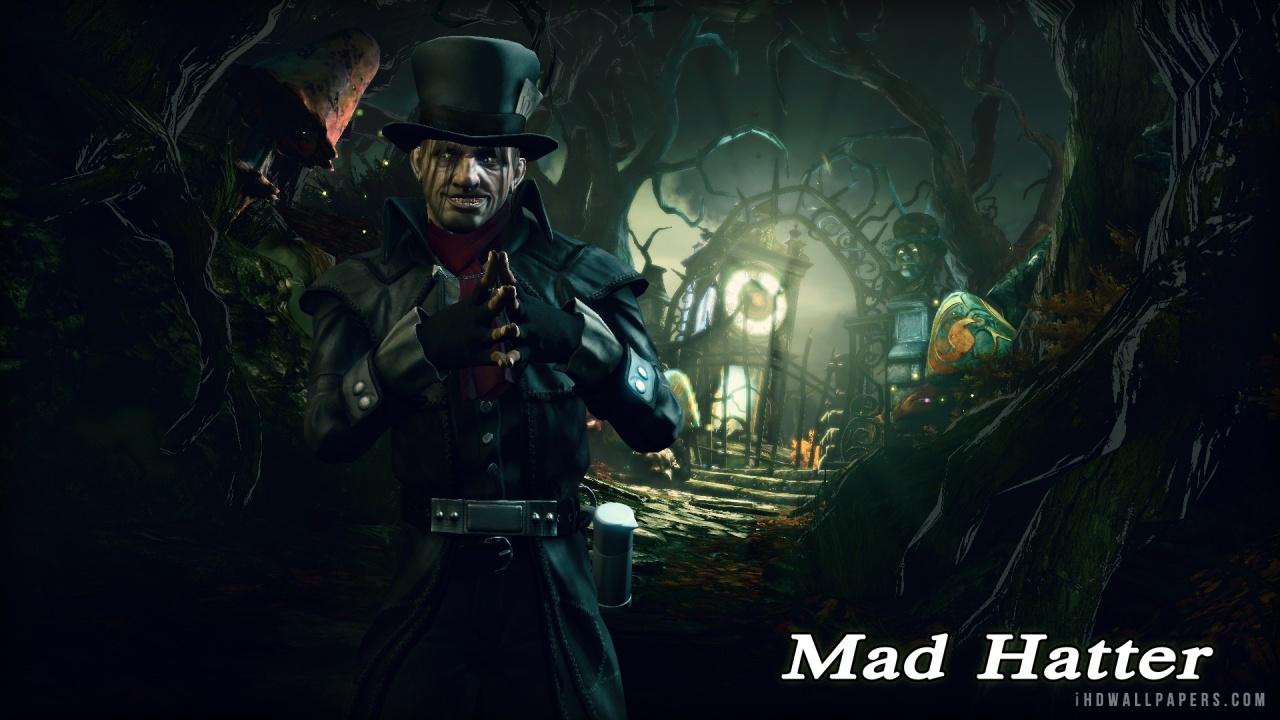 Mad Hatter Batman Arkham Origins Wallpaper 1280x720