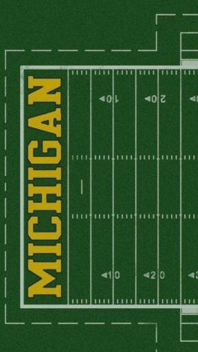 View bigger   Michigan Wolverines Wallpaper for Android screenshot 288x512