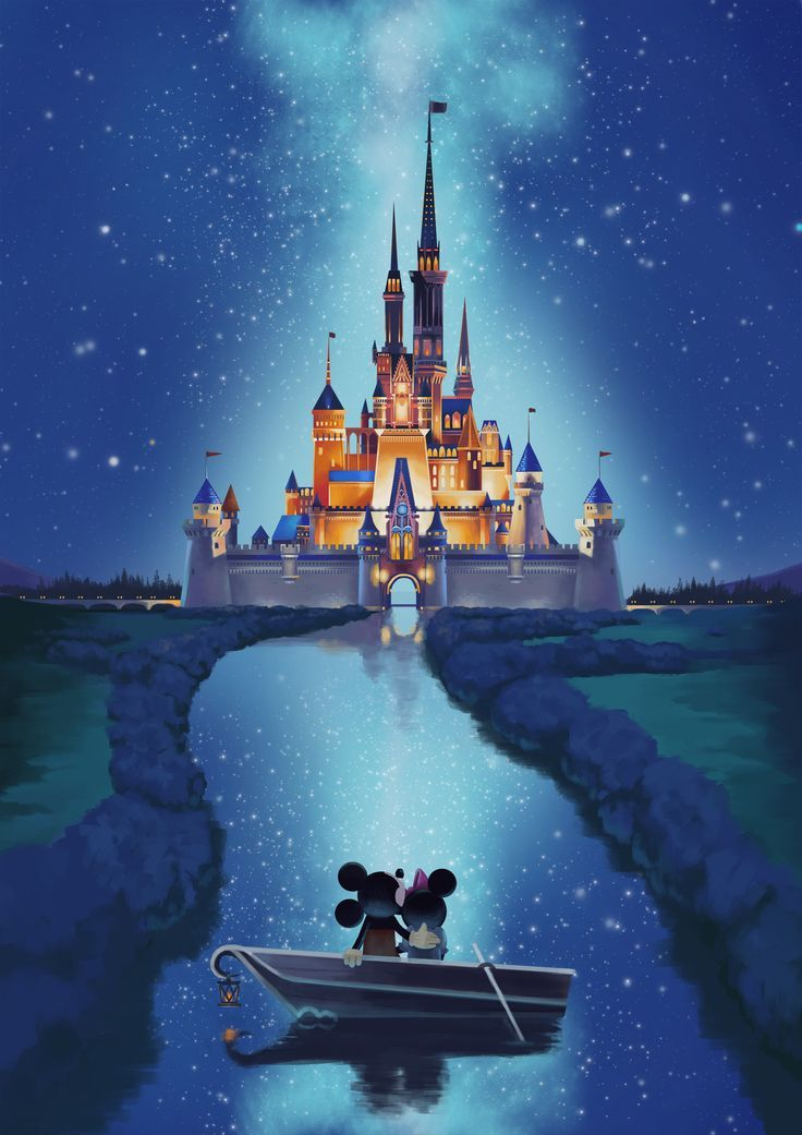 ArtStation Disney Castle Yaiza Ahsen Deserio   Backgrounds 736x1041