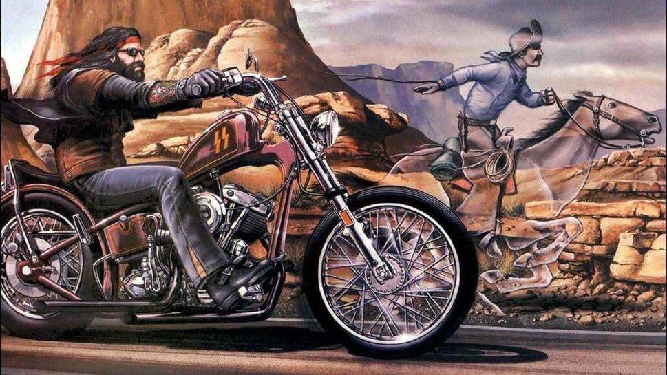 Biker the Outlaw wallpaper   ForWallpapercom 969x545