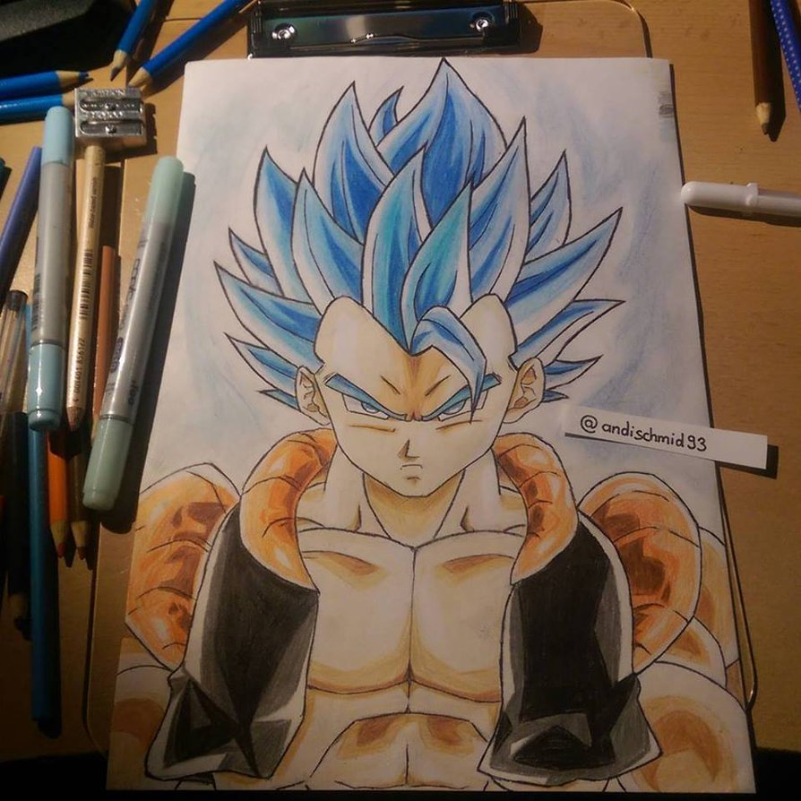 Dragonball Super Gogeta SSGSS by Pixxlor 894x894
