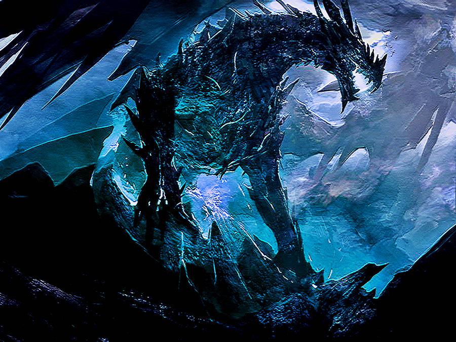 Ice Dragon by Lulztroll87 900x675