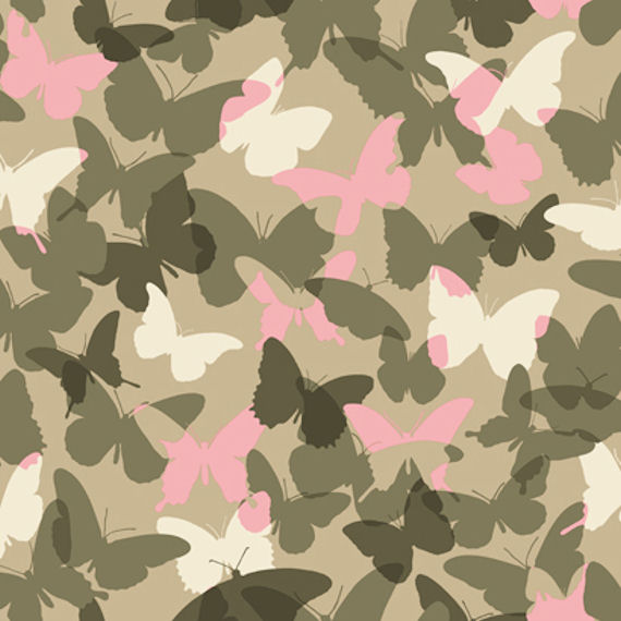 Candice Olson Pink and Green Camo Wallpaper   Kids Wall Decor Store 570x570