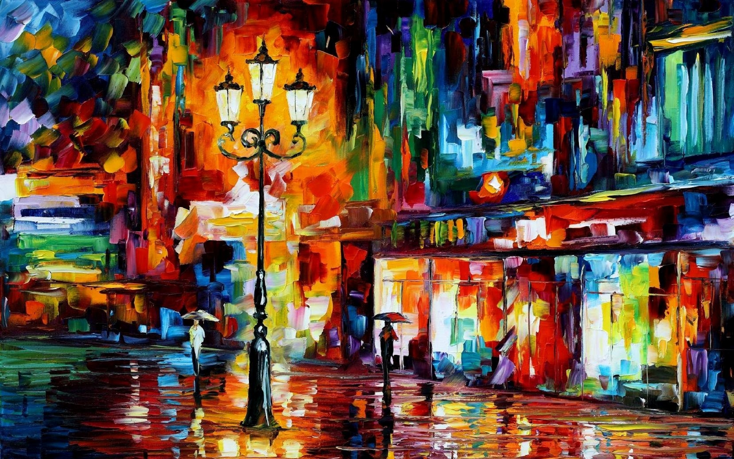 leonid afremov oil painting 16 2560x1600 artwallpaperhicom 2560x1600