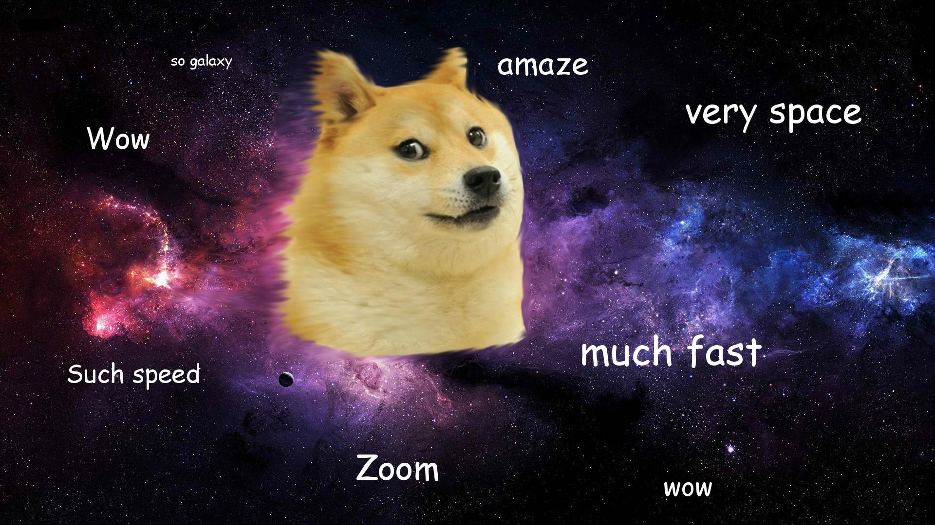 Wow Space Doge   Imgur 1920x1080