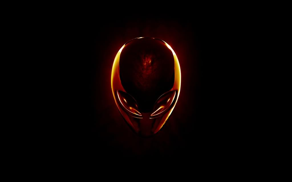 Red Alienware Desktop Themes 1024x640