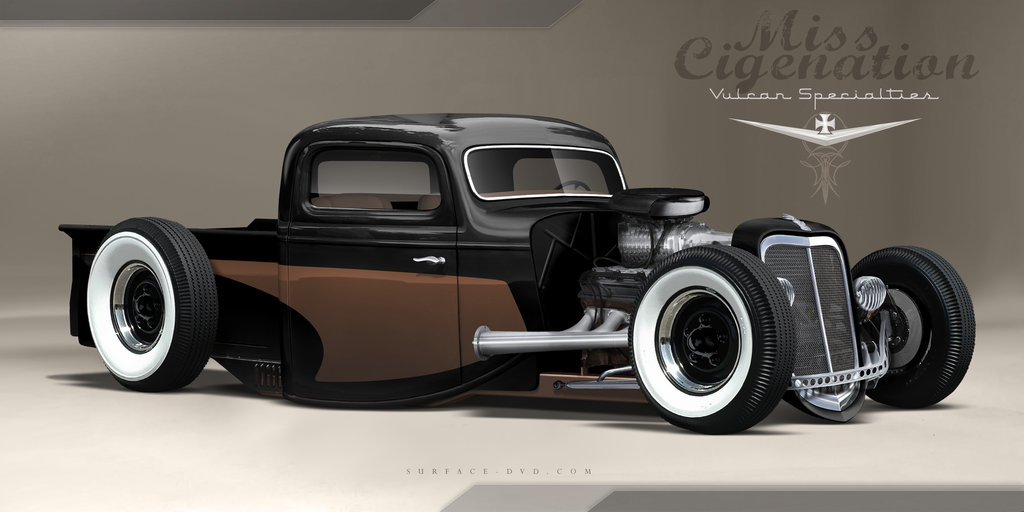 Rat Rod Pin Up Pictures 1024x512