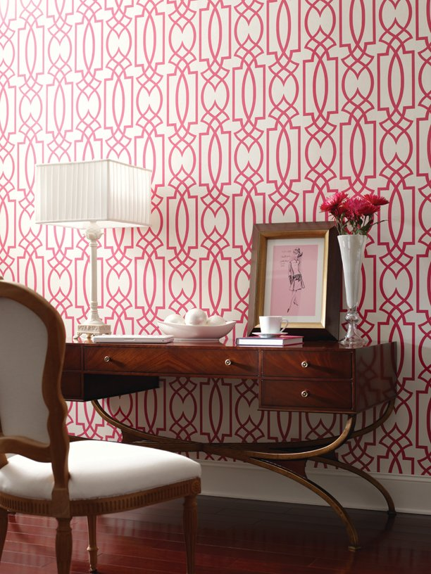 Bold colour and large scale pattern will always create a huge impact 612x816