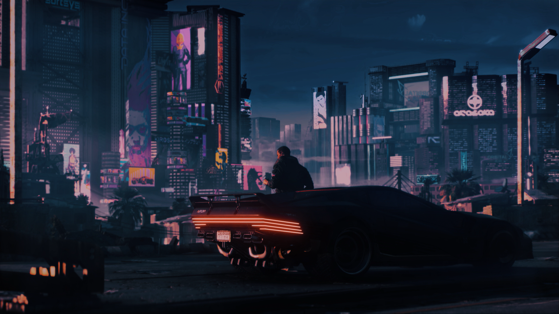 4K Cyberpunk 2077 Wallpapers 1919x1079