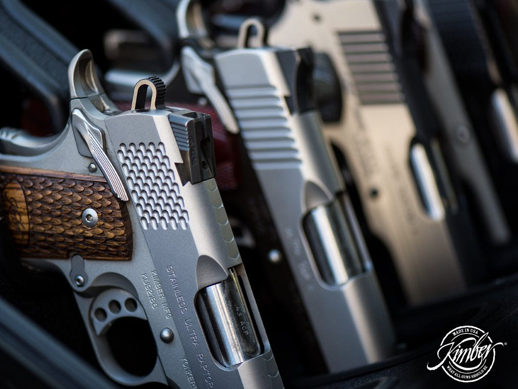 Kimber America Wallpaper 1024x768