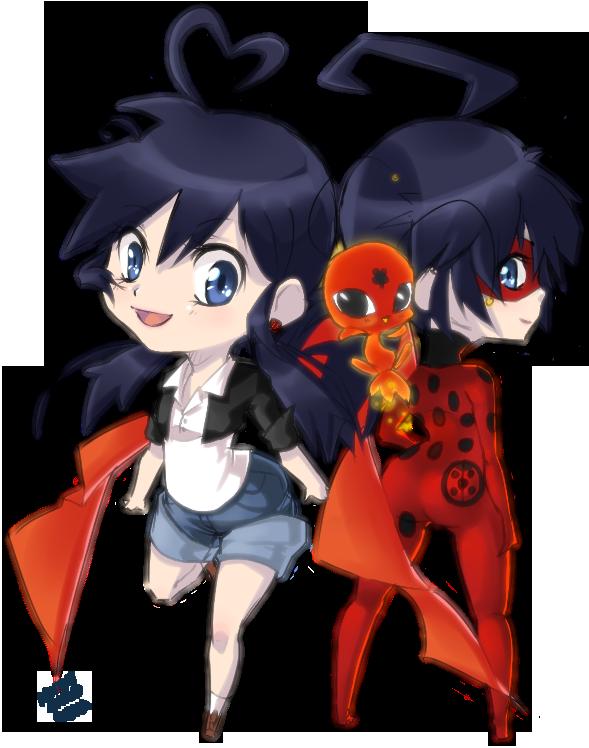 Miraculous Ladybug 589x748