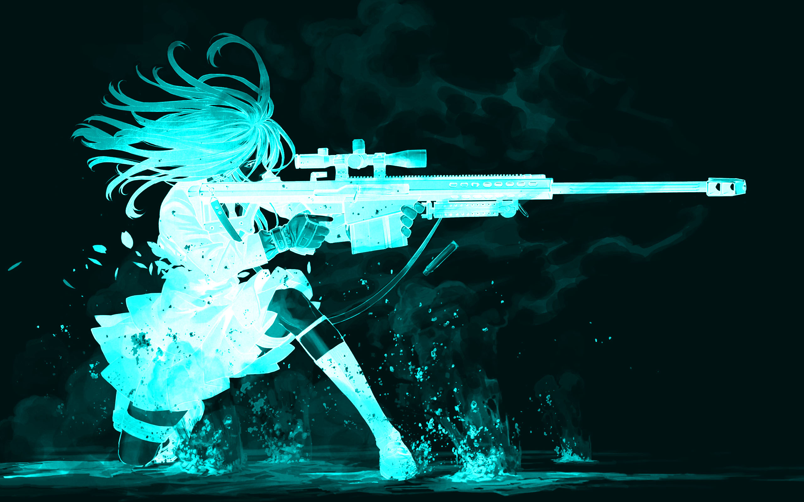 Gun Girl Computer Wallpapers Desktop Backgrounds 2560x1600 ID 2560x1600