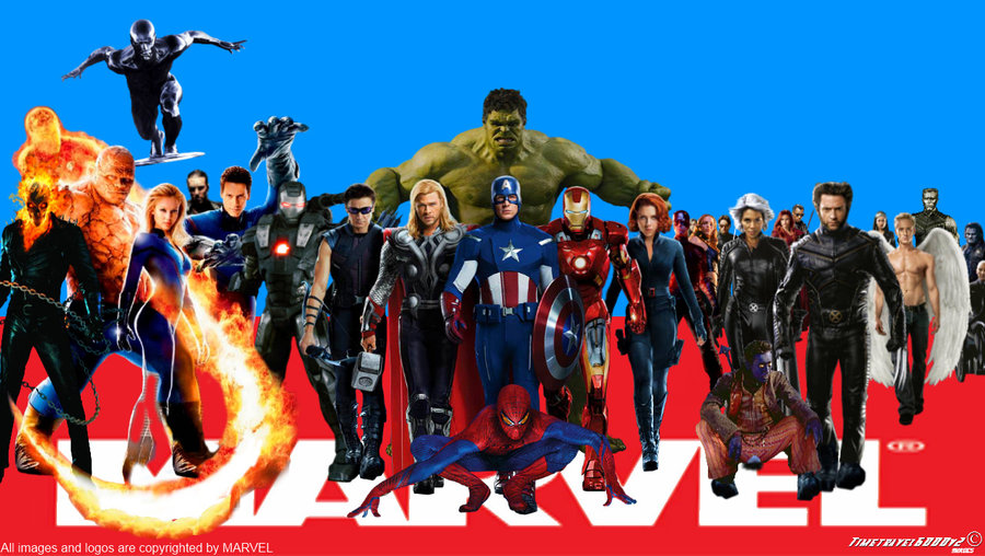 Marvel Superheroes Wallpaper Widescreen by Timetravel6000v2 on 900x508