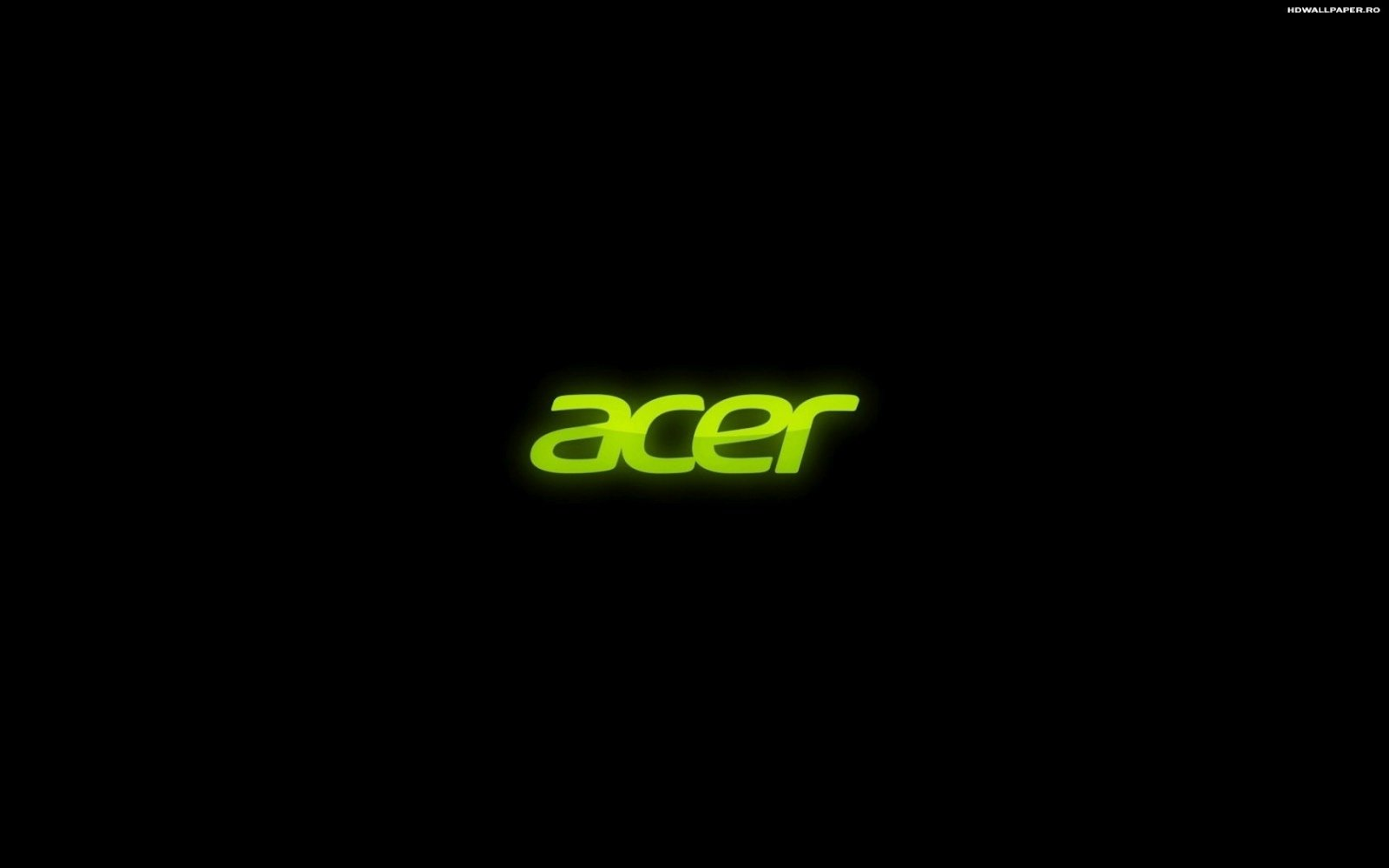 Acer Logo 3D HD Wallpaper 1600x1000