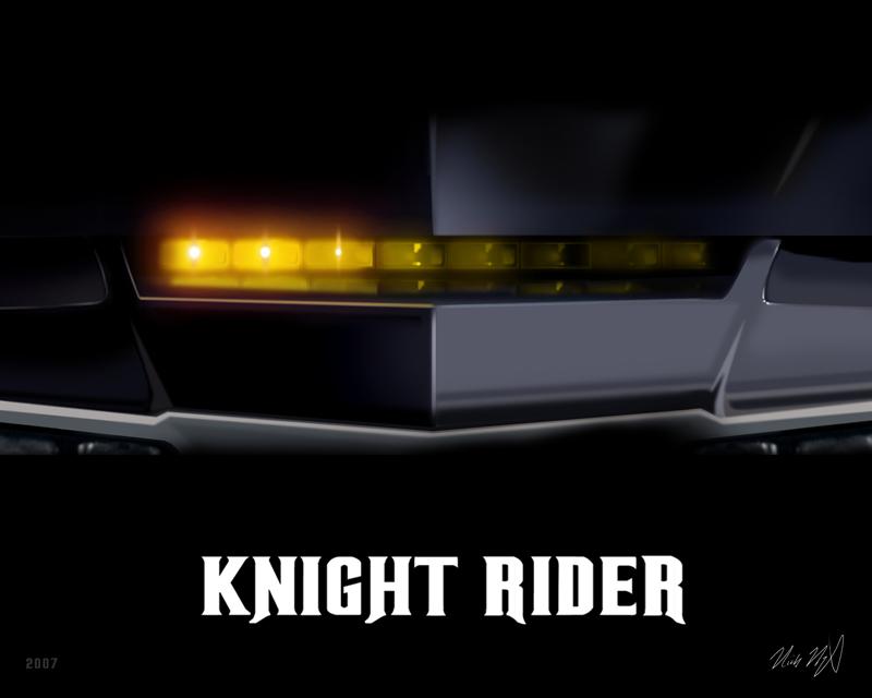 Knight Rider 8x10   KARR by valaryc 800x640