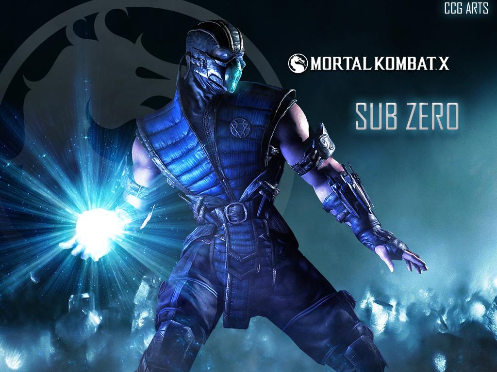 Free Download Wallpaper Mortal Kombat X Sub Zero By Ccg Arts