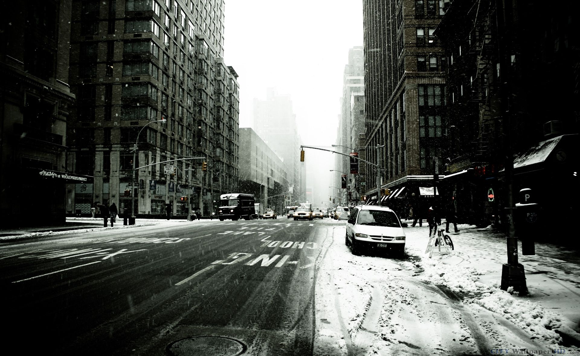 48 New York City Winter Wallpaper On Wallpapersafari