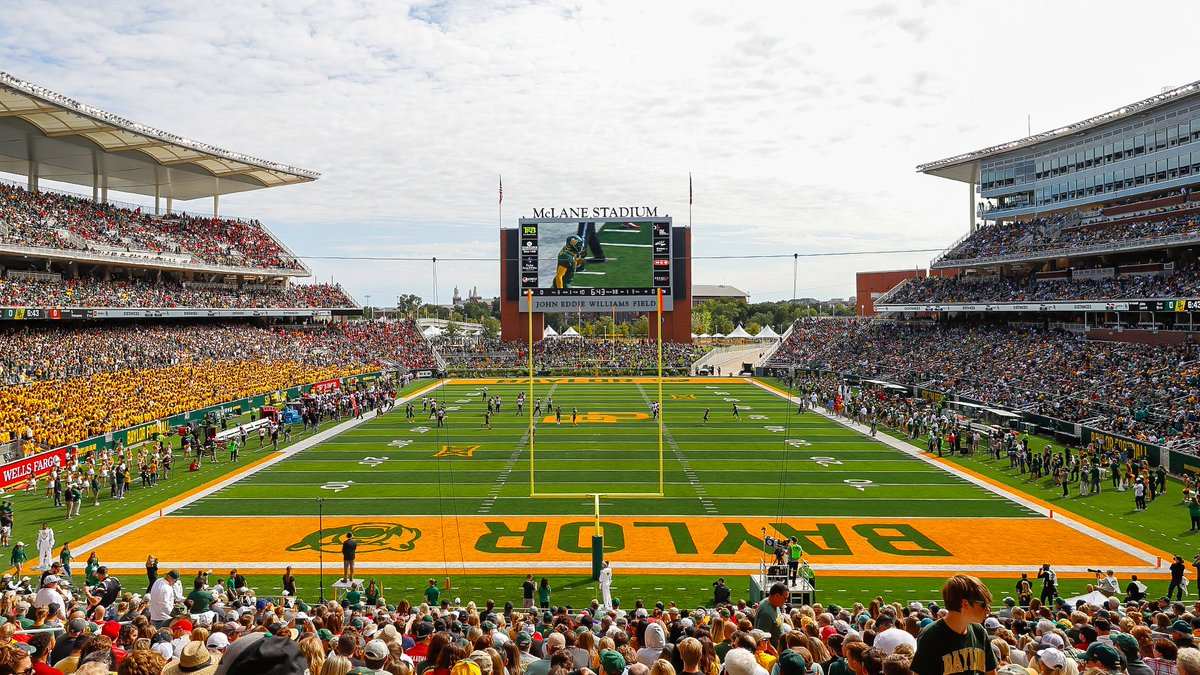 Baylor University on Twitter Fling your green gold during your 1200x675