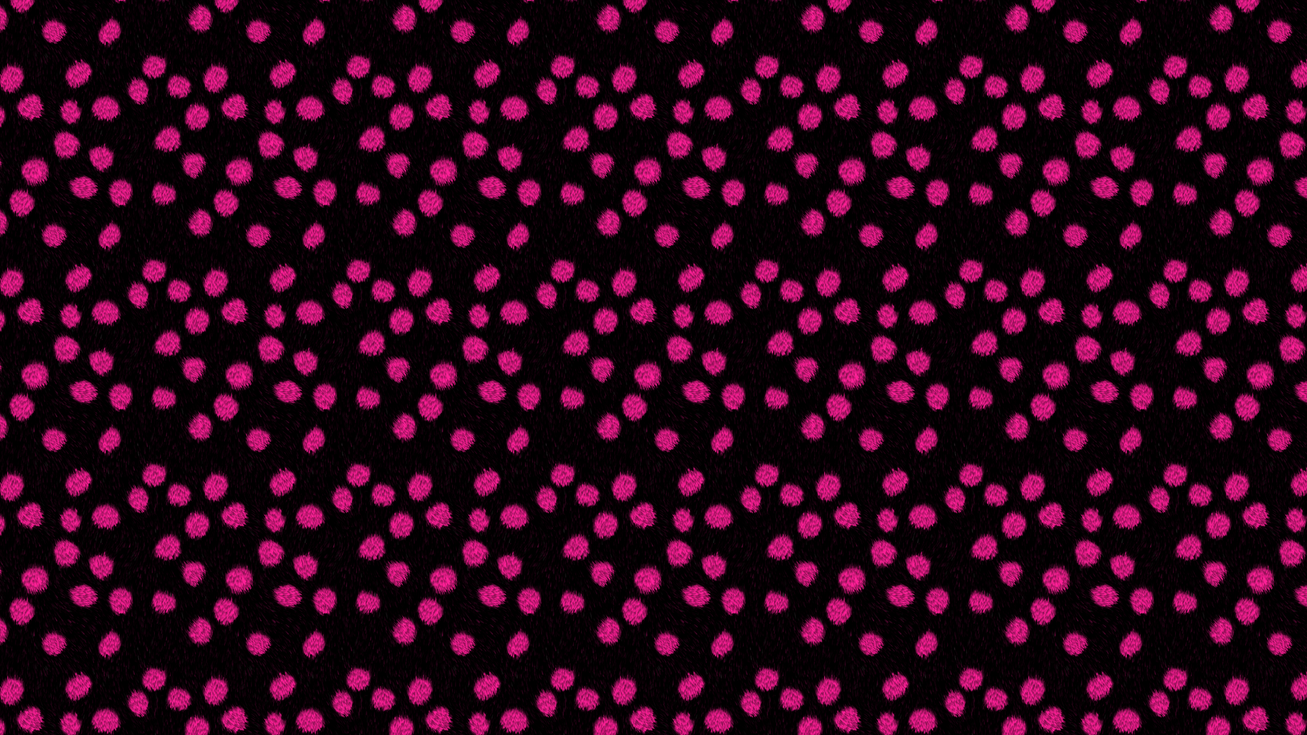 this Pink Polka Fur Desktop Wallpaper is easy Just save the wallpaper 2560x1440