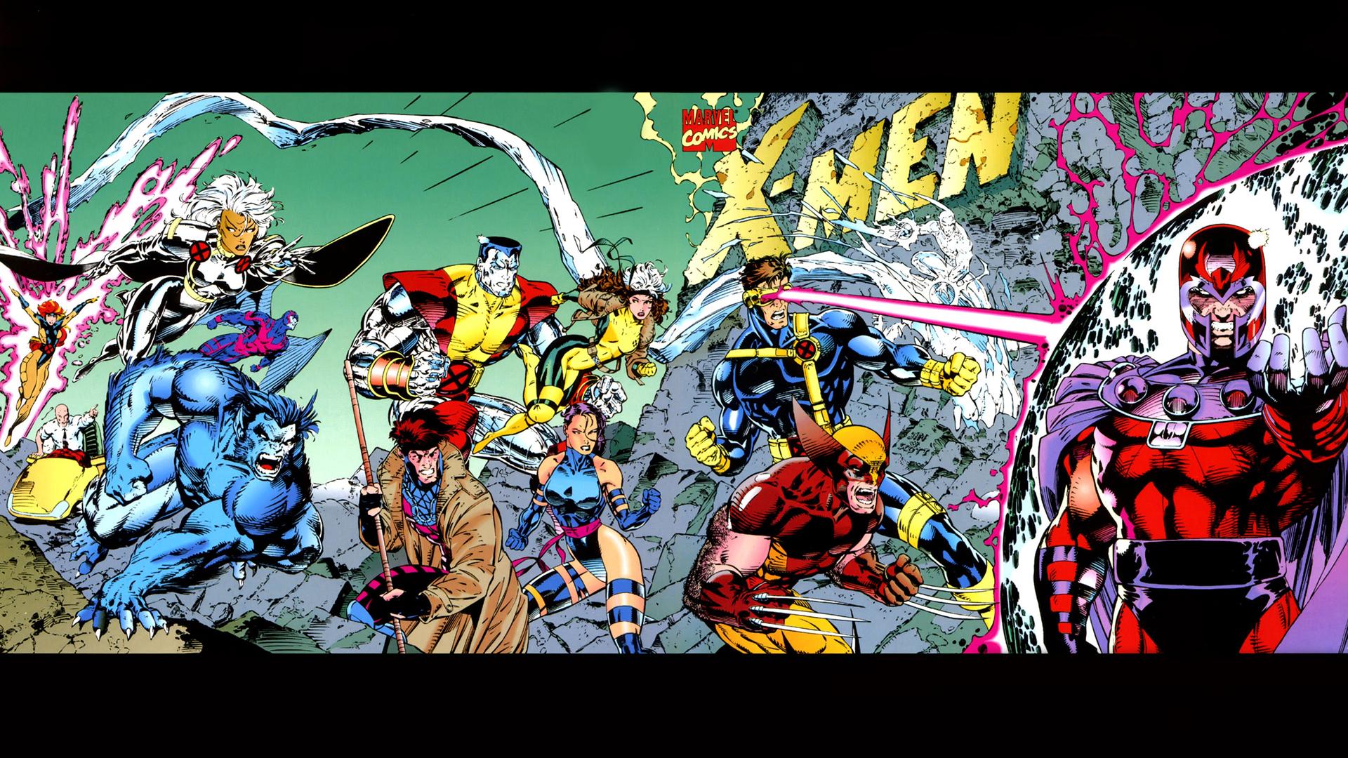 onlyhdwallpaperscomx men magneto marvel comics HD Wallpaper   Cartoon 1920x1080