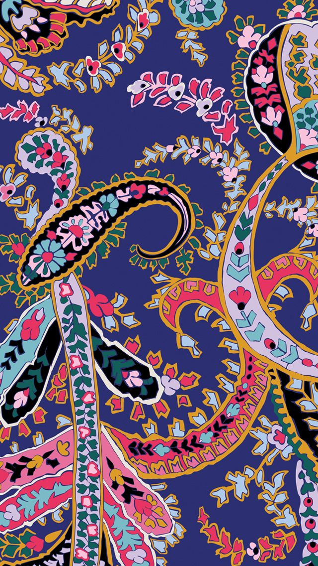 Romantic Paisley Phone Download Tech Wallpapers in 2019 Iphone 640x1136