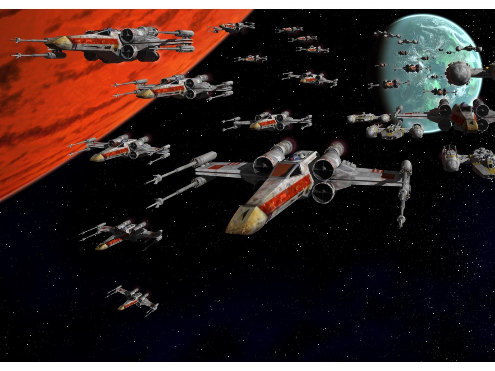 star wars x wing desktop wallpaper 1600x1200   Geek Vox 1600x1200