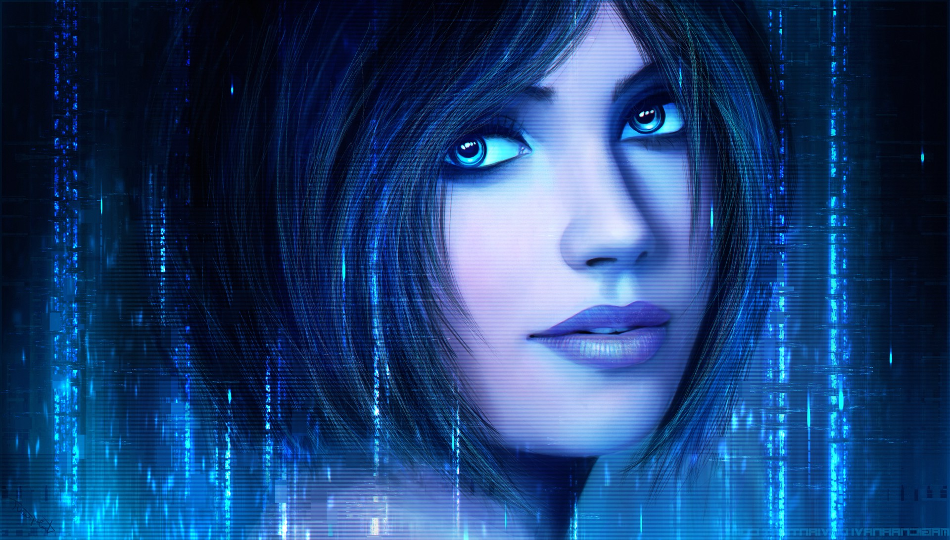 Cortana Halo 126777   HD Wallpaper Download 1920x1091