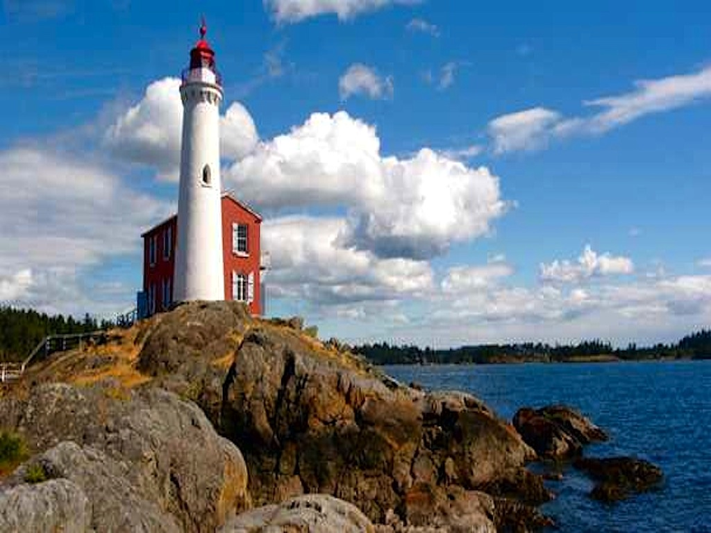 Lighthouse in Victoria British Columbia wallpaper   ForWallpaper 1024x768