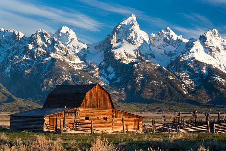 Pin Teton Barn Jackson Hole Wyoming Desktop Wallpapers on 792x528