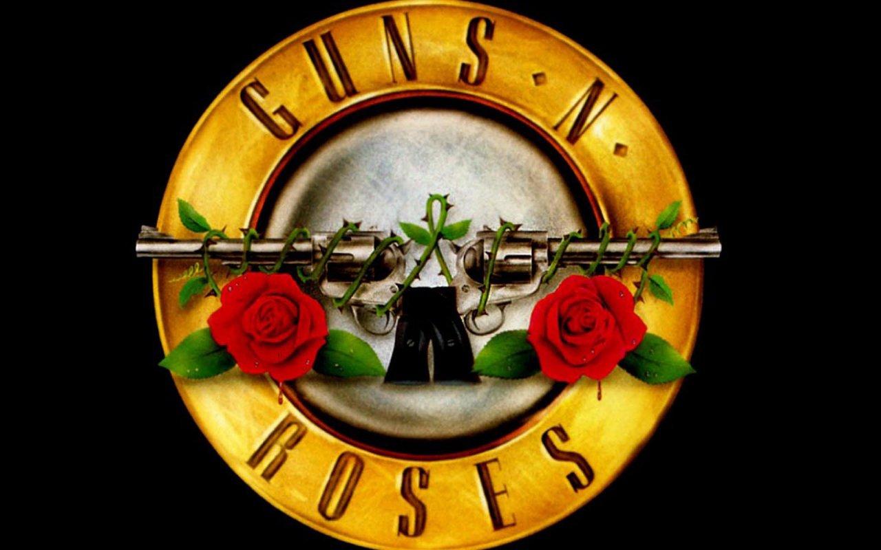 Logo Wallpaper Guns n Roses Logo Wallpaper 1280x800