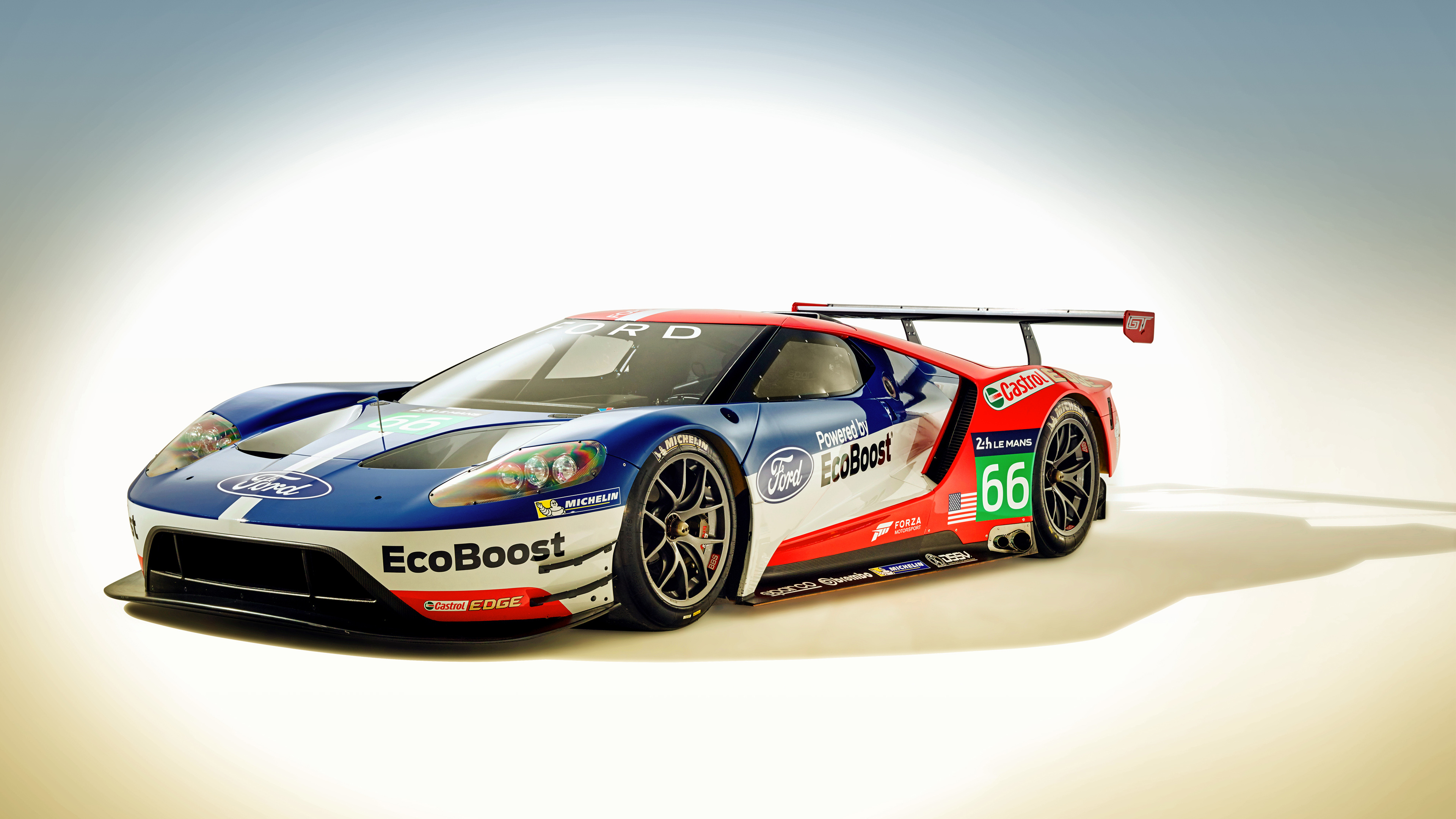 Ford GT Race Car 2016 Wallpaper HD Car Wallpapers 3840x2160