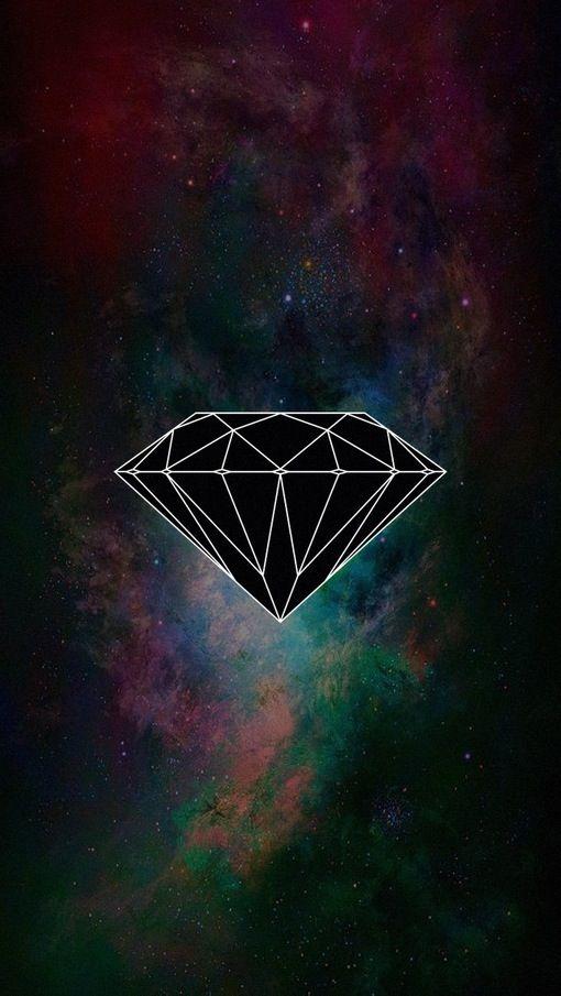 Diamond iPhone5 wallpaper Pinterest 510x905
