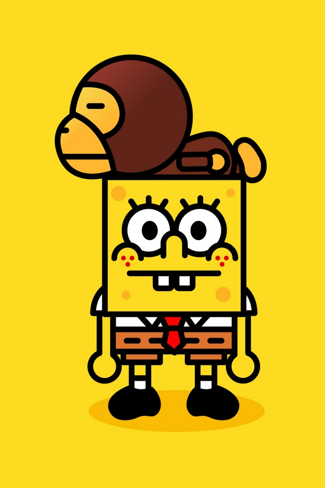 Spongebob Iphone Related Keywords Suggestions   Spongebob Iphone 640x960