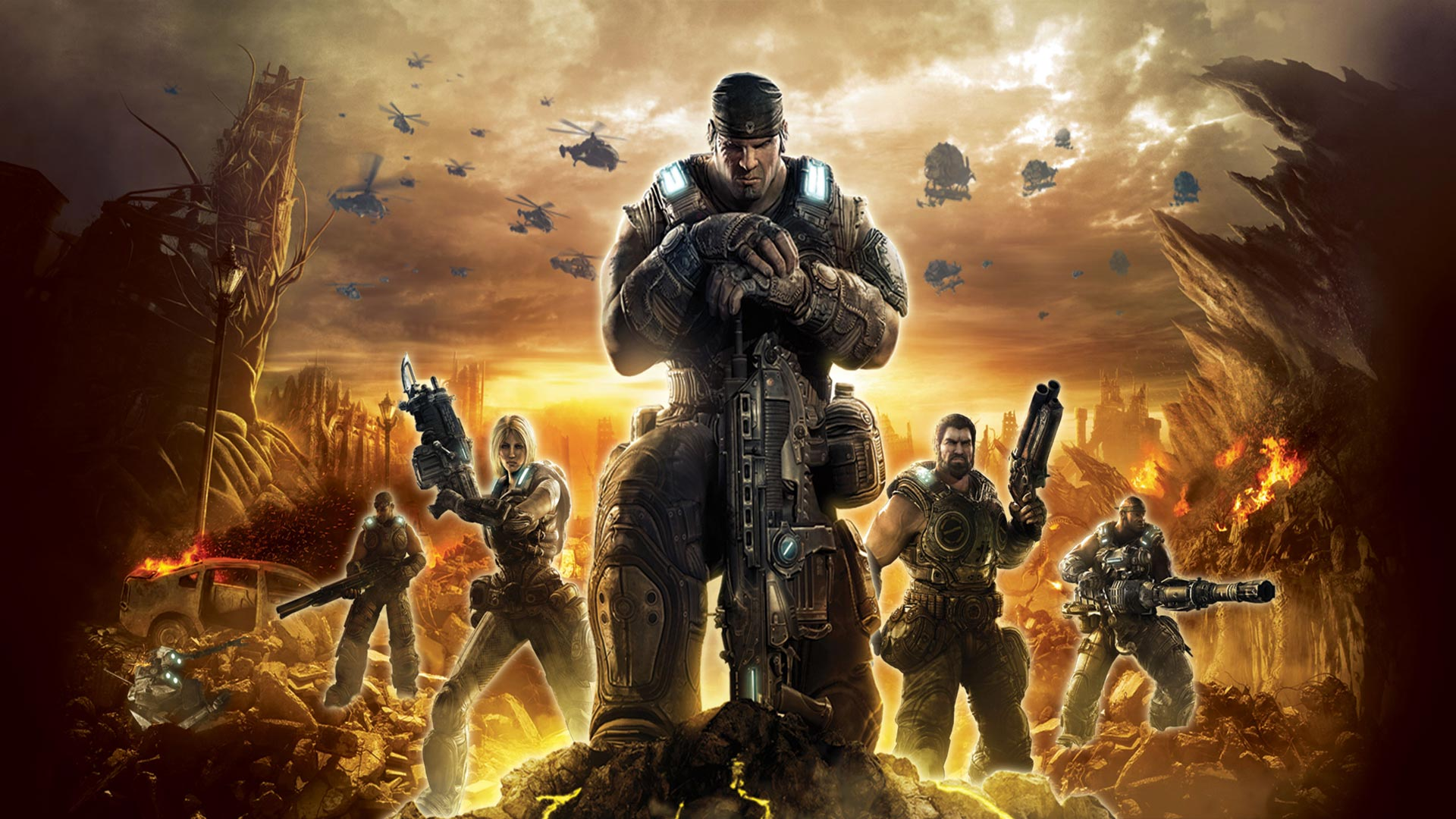 Gears Of War 3 Wallpapers: Gears Of War Backgrounds