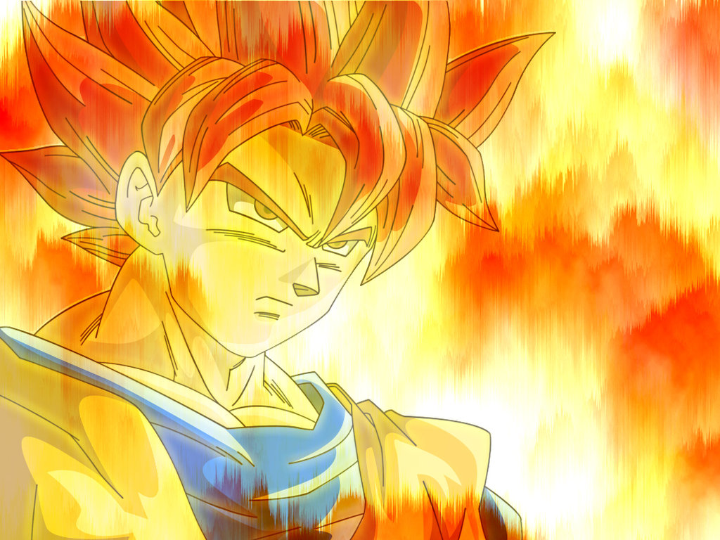 Goku Super Saiyan God Wallpaper Son goku super saiyan god v2 1024x768