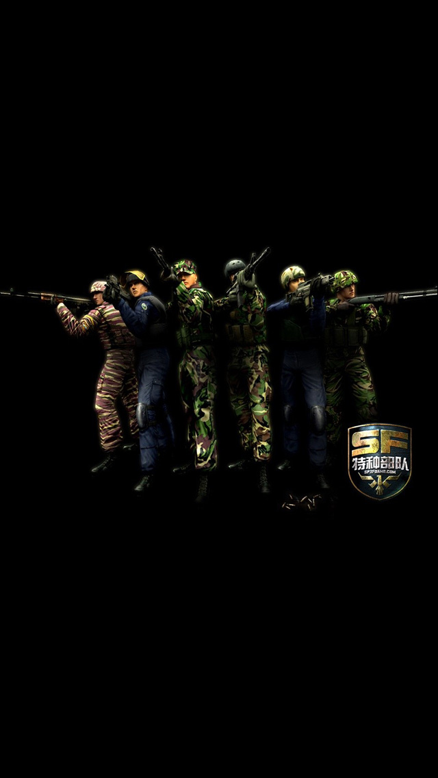 iPhone 5 wallpapers HD   Special Forces Backgrounds 640x1136