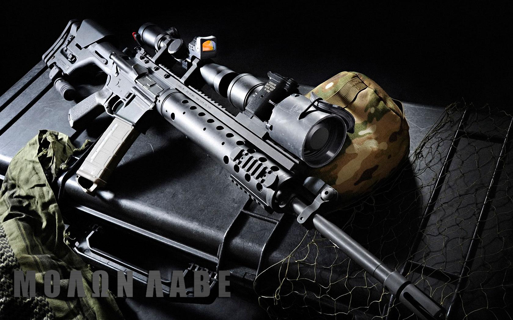 Guns Weapons Wallpaper 1680x1050 Rifles