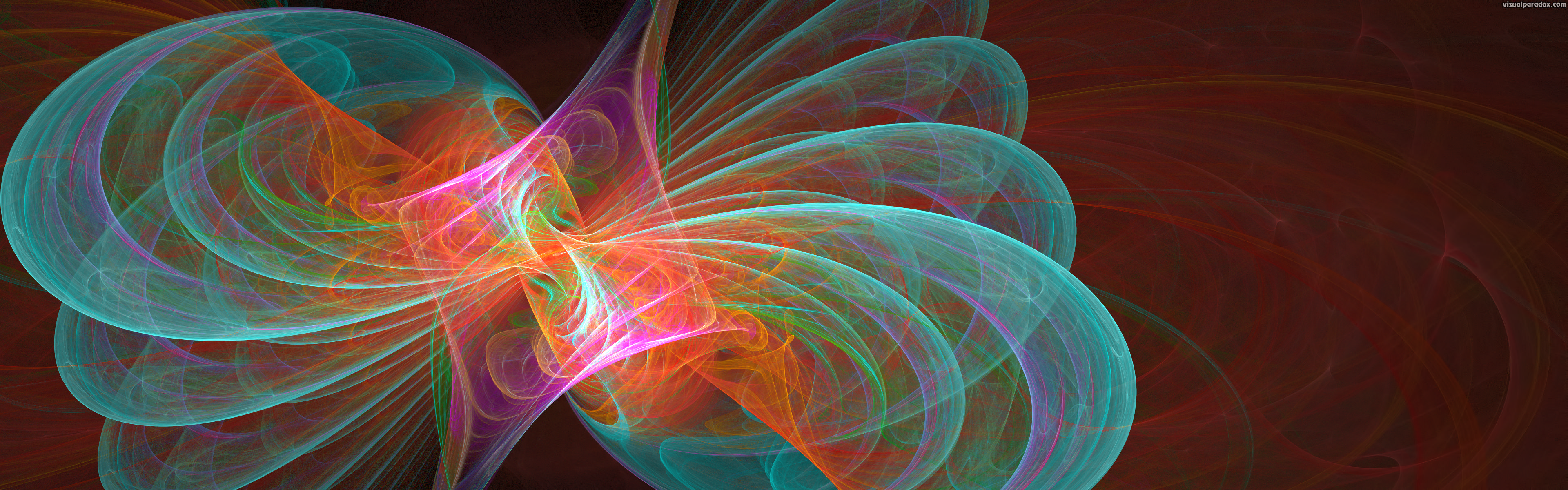 Visual Paradox Free 3D Wallpaper 'Holographic Butterfly ...