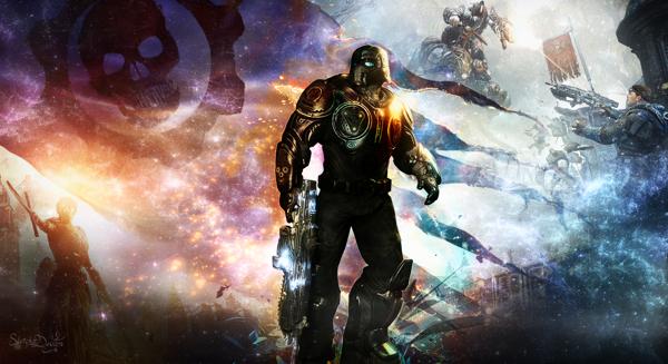 Gears of War Judgement Wallpaper on Behance 600x327