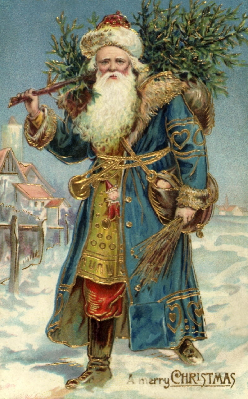 Victorian Christmas Postcards 800x1288