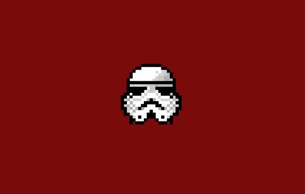 Wallpaper 8 bit 8bit pixelart pixel art stormtrooper storm 596x380