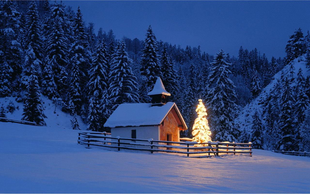 Meet in Winter wallpaper 10 Landscape Wallpapers 1280x800