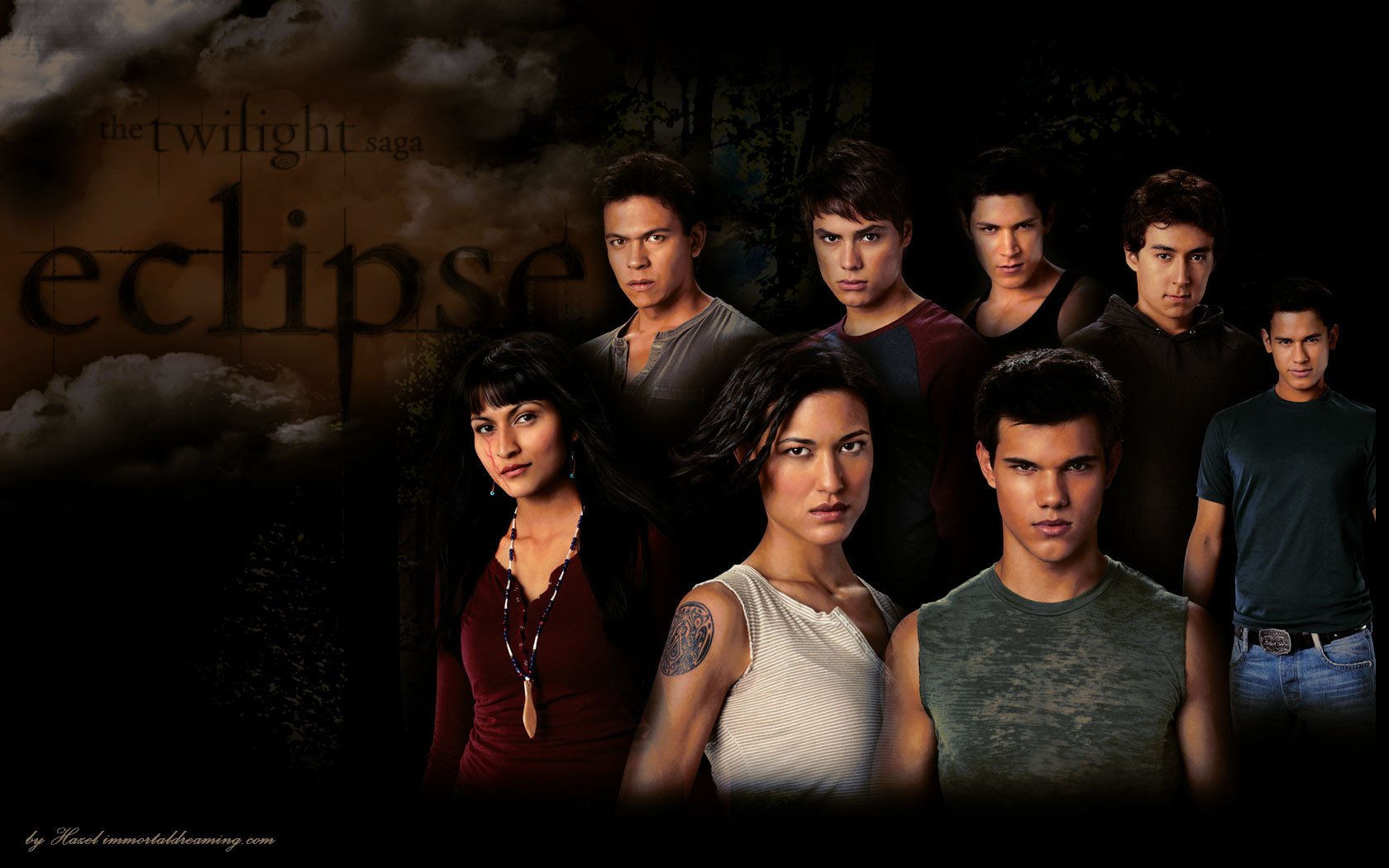 The Wolf Pack Family   Twilight Series Wallpaper 12007030 1680x1050