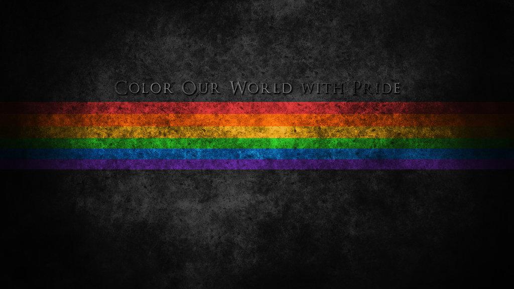 Gay Pride Rainbow Wallpaper 1024x576