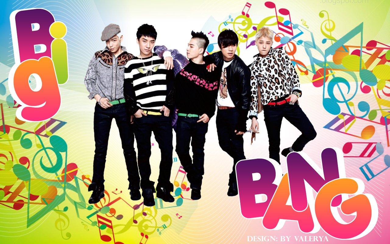 Free Download Big Bang Cartoon Kpop Big Bang Korean