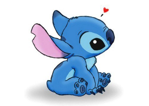 love cute disney stitch ahhh stuckinaplane 500x355